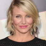 Cameron Diaz Layered Short Bob Hairstyles