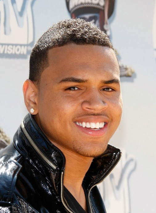 Chris Brown Buzz Cut Very Short Haircut For Men
