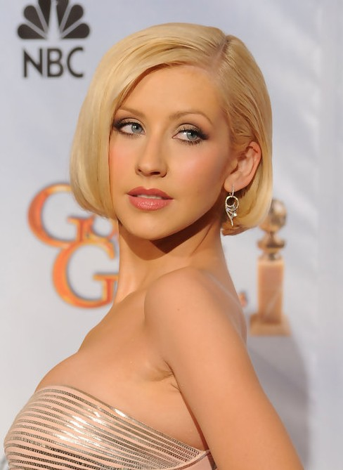 Christina Aguilera Short Hairstyles