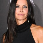 Courteney Cox Long Straight Hairstyle
