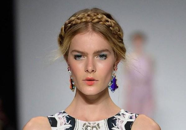 Hair Trends Milkmaid Braids