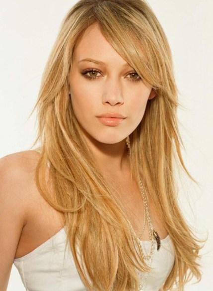 Hilary Duff  Cute Long Layered Hairstyles