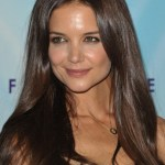Katie Holmes Long Straight Hairstyles