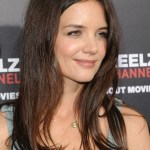 Katie Holmes Simple Easy Long Hairstyles