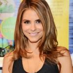 Maria Menounos Long Layered Straight Hairstyles
