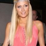 Paris Hilton Long Sleek Hairstyles