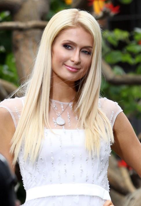 Paris Hilton Long Straight Hair Styles