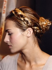 milkmaid braids cute braided hairstyles