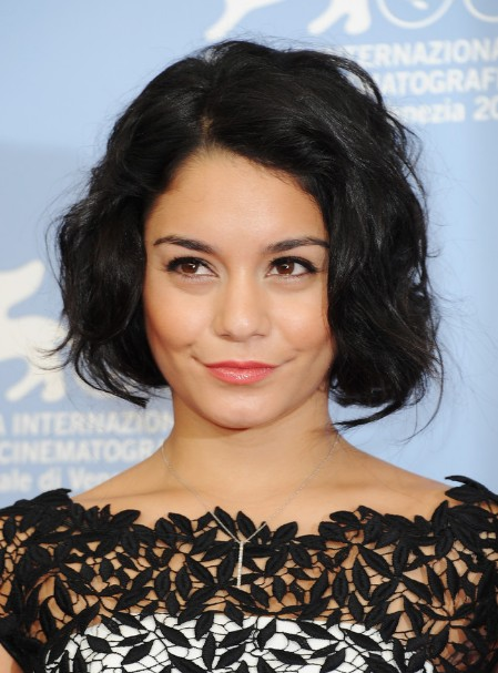 Vanessa Hudgens Bob Hairstyle For Short Hair Hairstyles