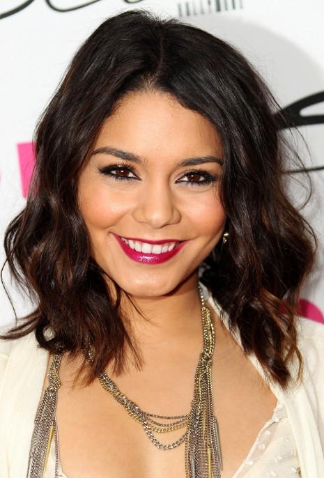 Vanessa Hudgens Medium Curly Hairstyles