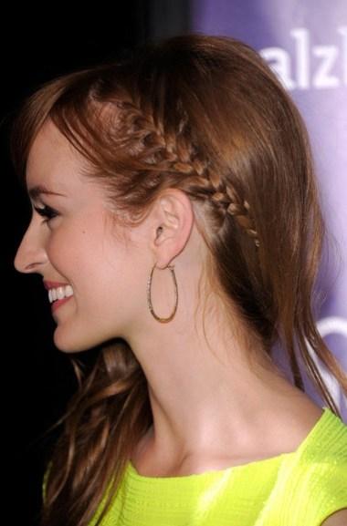 Ahna O'Reilly Braided Hairstyle
