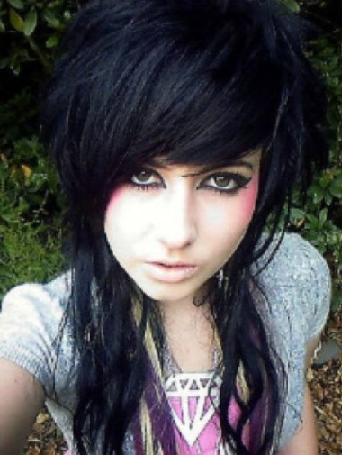 Emo hairstyle for girls