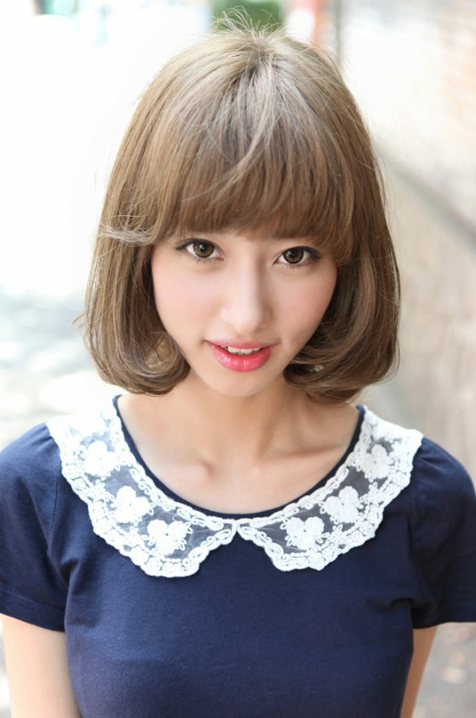 2013 Cute Japanese Bob Hairstyle For Women Hairstyles Weekly