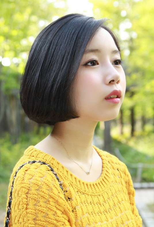 Cute Classic Asian A-line Bob