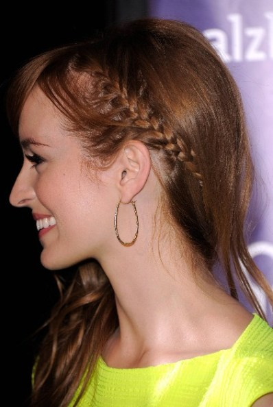 Cute Side French Braid Hairstyle