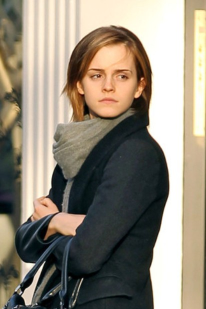 Emma Watson Bob Hairstyle Casual Low Maintenance Short