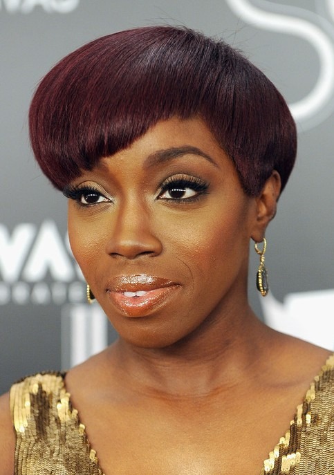 Estelle Swaray Hairstyles Short Crop With Cool