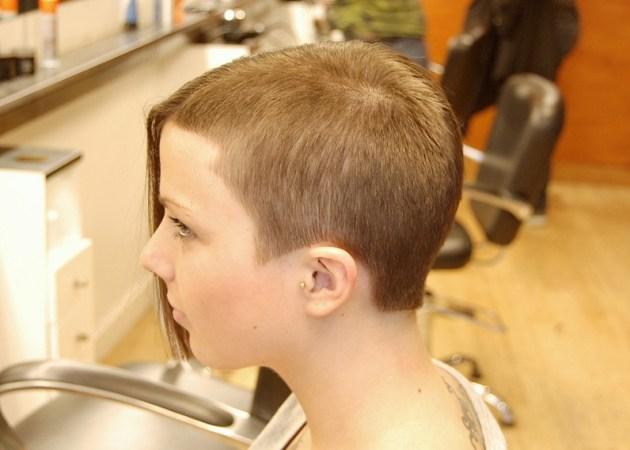 Hot Asymmetric Short Haircut for Women