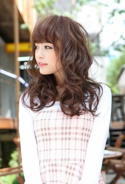 Sweet Long Japanese Hairstyle For Girls Hairstyles Weekly