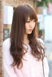 cute korean hair style girl's