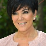 Kris Jenner Short Haircut with Bangs