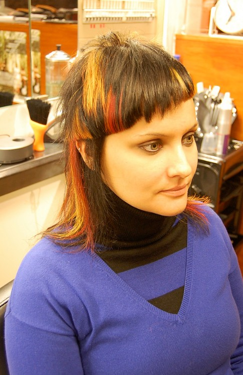 Flames A Fabulously Head Turning Cut Amp Color Hairstyles