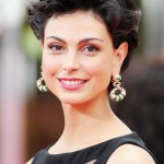 Morena Baccarin Short Curly Hairstyles