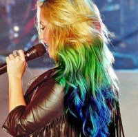 Multi Colored Hairstyle - Hairstyles Weekly