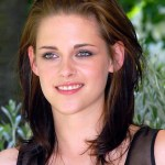 Kristen Stewart Ombre Medium Length Layered Hairstyle