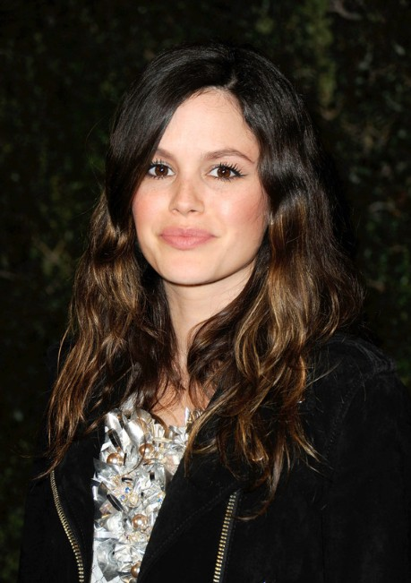 Rachel Bilson Long Wavy Highlighted Hairstyle Hairstyles