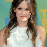 Rachel Bilson Tousled Long Wavy Ombre Hair