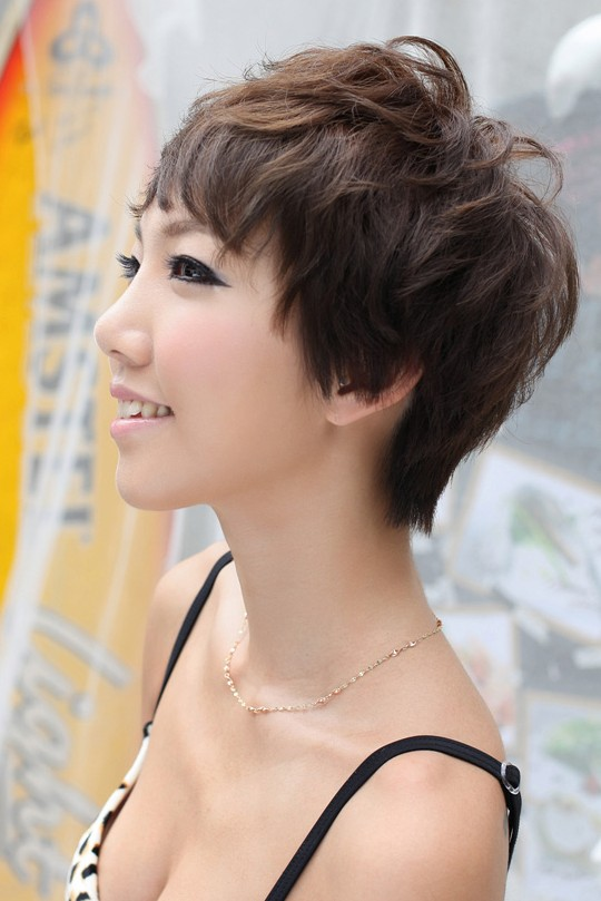 Side view of short pixie cut  Hairstyles Weekly