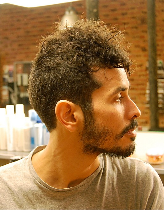 Short Curly Haircut for Men Long Buzz Cut with Hawk Top  Hairstyles Weekly