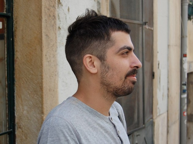 Side View of Short Haircut for Men