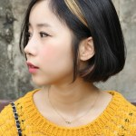 Stylish Asian Cute A-line Bob Hairstyle