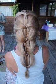 stylish fishtail braid - hairstyles