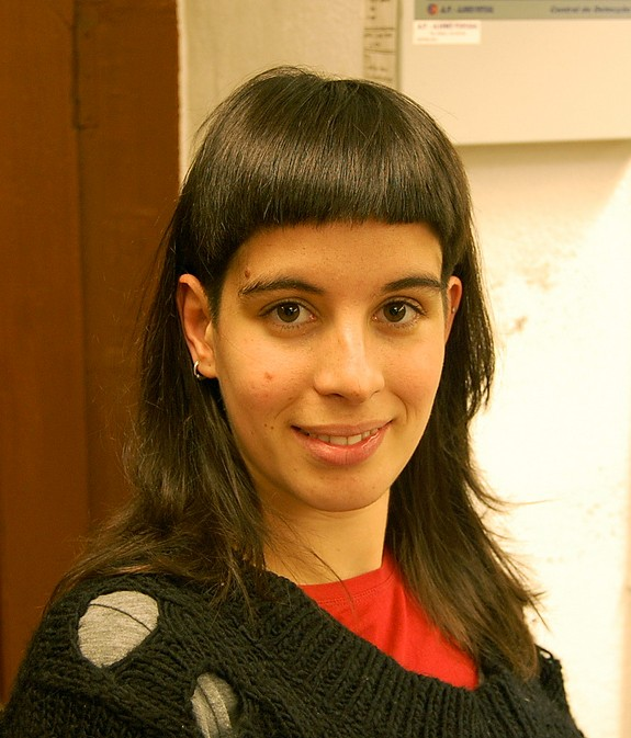 Stylish Long Straight Hairstyle with Full Blunt Bangs