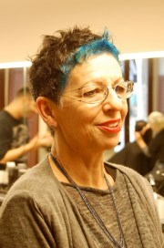 timeless pixie with blue surprise