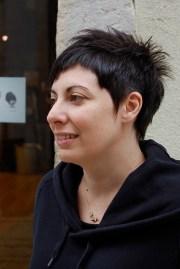 trendy short chic dark haircut