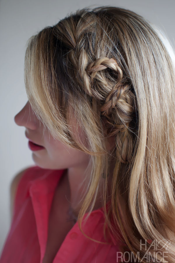 Beautiful Edgy Casual Mini Twist Braid A Little