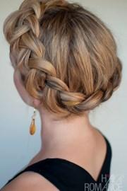 dutch crown braid - simple casual