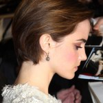Emma Watson Cute Short Hairstyle 2013