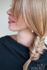 Funky Casual Braid - Side Fishtail Braid - Easy Braided ...