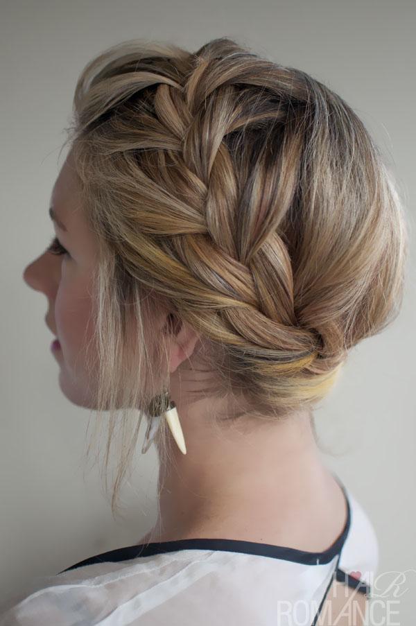 French Braid Wedding Hairstyles Long Hair