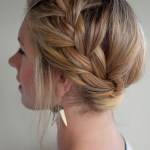 French Crown Braid - Best Summer Hairstyles