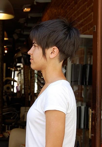 Perfect Haircut For Summer Rough Cut Undercut Bell