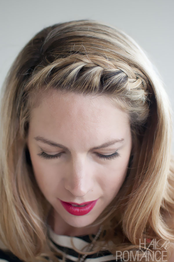 Hairstyles Weekly: Pretty Hairstyles - French Fringe Braid