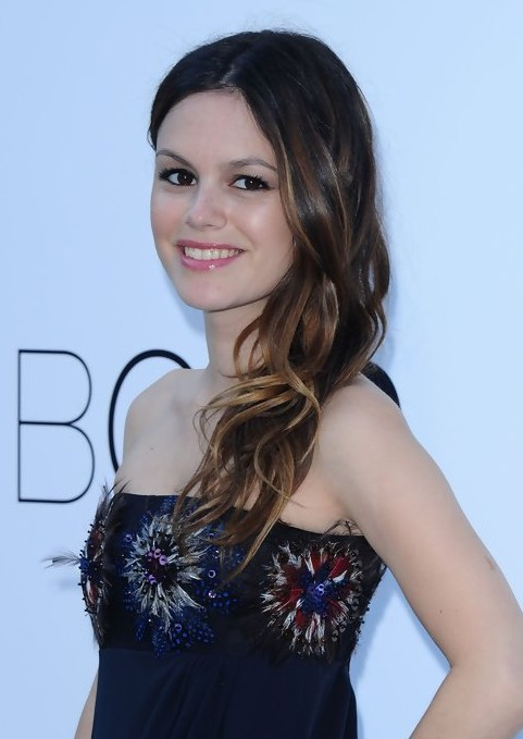 Rachel Bilson Long Hairstyle with Soft Side Swept Waves