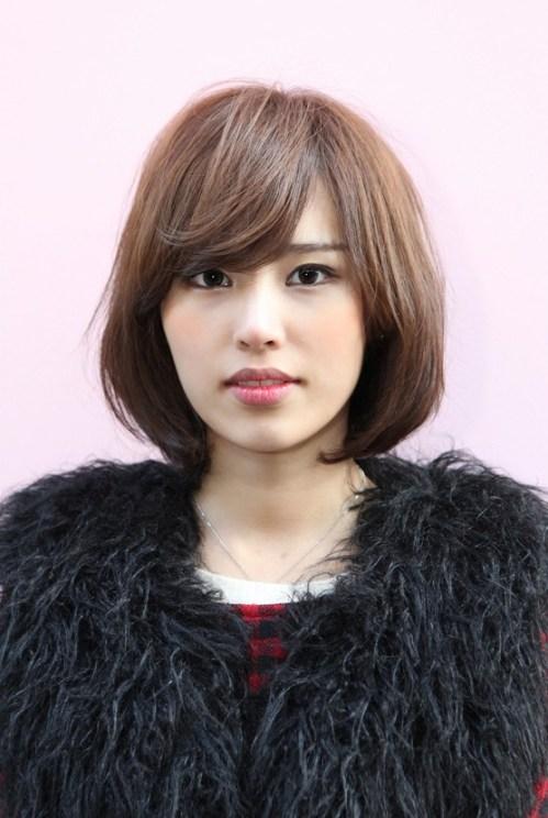 Short Japanese Bob Hairstyle for Women: 2013 Asian Bob Hairstyles