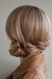 romantic side twisted braid - braided